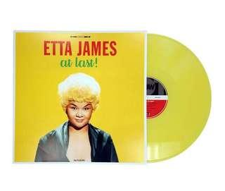 Etta James At Last Vinyl LP - Coloured Vinyl