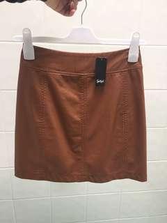 Sportsgirl Tan Skirt