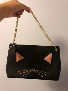 Kate Spade cat purse