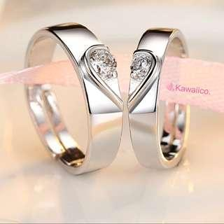 🚚 💍 Free mail: Couple Ring Instock