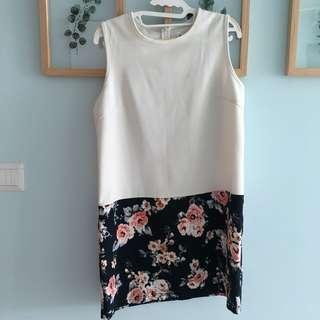 Something Borrowed Floral Dress
