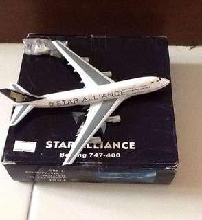 STAR ALLIANCE (747-400) SCALE-1:400