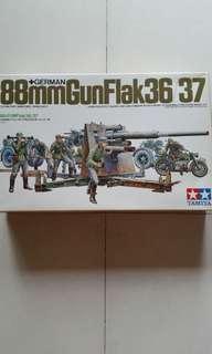 Tamiya 88mm Flak36/37 1/35