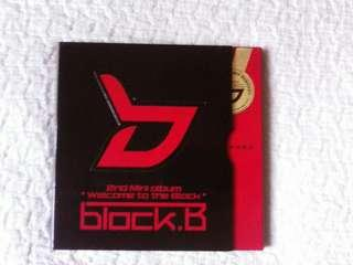 Block B - 2nd Mini Album Welcome to the Block (limited edition)