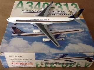 SINGAPORE AIRLINES (CELESTAR) A340-313 SCALE-1:400