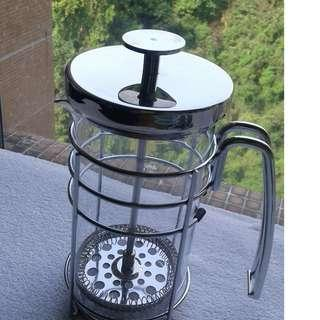 Stainless Steel and Glass Infuser Teapot (price cut)