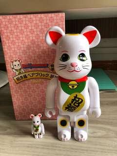 Fortune Cat Bearbrick