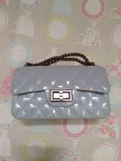 Sling bag jelly grey