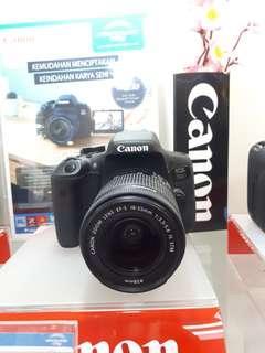 Kamera Canon Eos 750d MURAH (Kredit Free 1x angsuran)