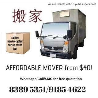 cheap mover