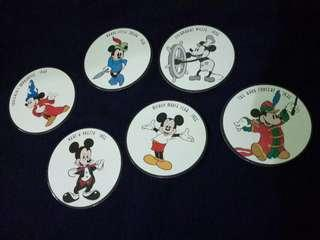 Mickey Mouse 6-piece collectibles
