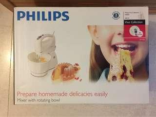 Philips mixer with rotating bowl