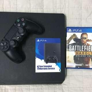 PS4 Slim Jet Black 500GB