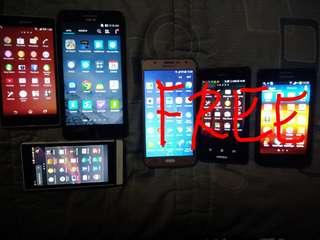 Buy 3 good phones free 3 phones with issue