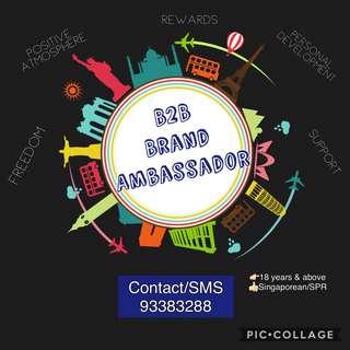 (ORD/Fresh Grad!) B2B Brand Ambassador