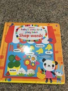 BNIP Usborne baby's very first play book