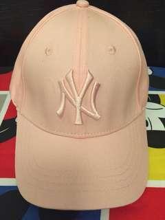 粉紅色NY cap