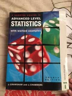 Advanced Level of Statistics