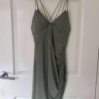 Brand new w/ Tags green mini/clubbing dress