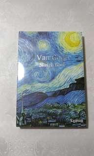 Van Gogh Sketchbook Starry Night 2