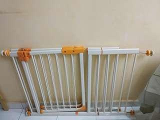 Baby Safety Gate-Little bean 2 sets with extension