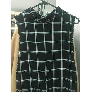 Glassons checkered dress (Size 10)