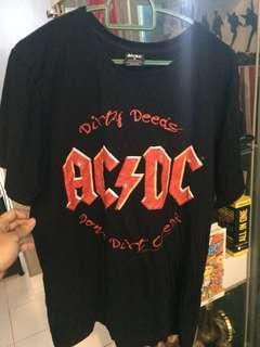 band shirt acdc