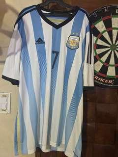 Adidas Argentina Angel Di Maria jersey XXL