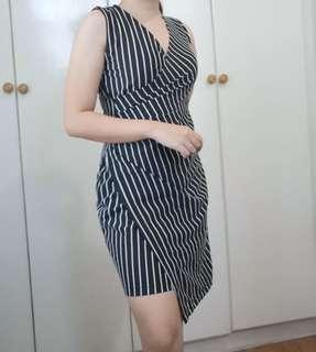 Brand new stripe dress