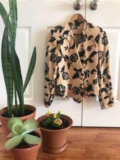 Carla Zampatti floral blazer