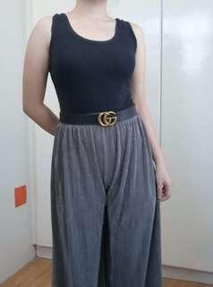 Pleated palazzo pants (brand new)