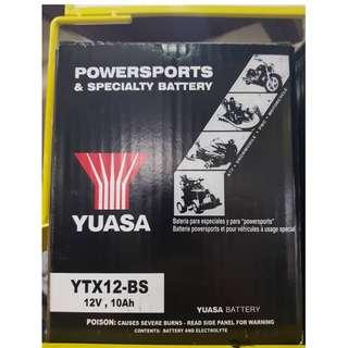 YUASA POWERSPORTS & SPECIALTY BATTERY (YTX12-BS)