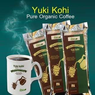 Yuki Kohi Organic Coffee 100g