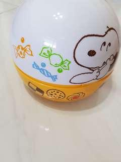 Snoopy lunch box $4.50 Free Postage