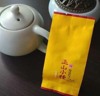 茶葉 正山小種 原片福建武夷山岩紅茶
