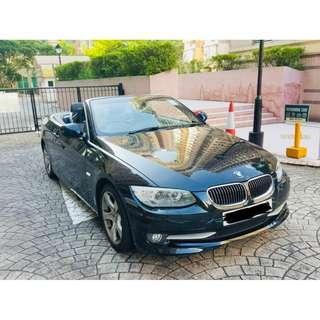 BMW 323I CABRIO 2011