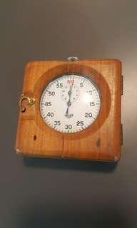 Vintage Heuer Swiss Made Mechanical stop Watch