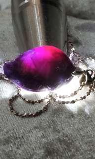 天然舒俱來寶石銀項鍊🎉超低價含運