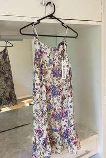BNWT Minkpink Floral Dress