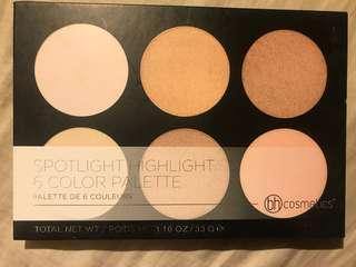 Spotlight Highlight 6 Colour Palette - bh cosmetics