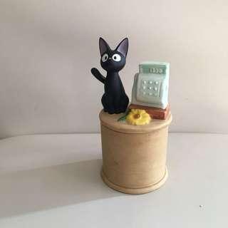 全新 可愛小黑貓擺設