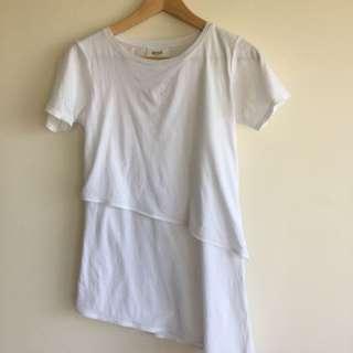Seed XS White Tshirt