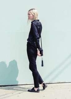 Uniqlo Slim Fit Black Jeans
