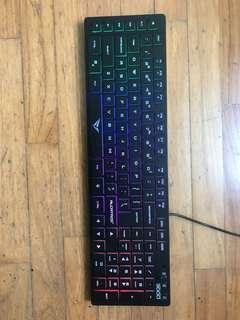 ALCATROZ RAINBOW KEYBOARD