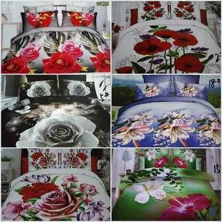 EXCLUSIVE 9D COMFORTER OIL PRINTING 7in1