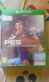 Xbox One Games PES 2018
