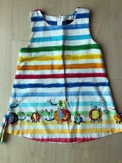 Jim Thompson rainbow shift dress