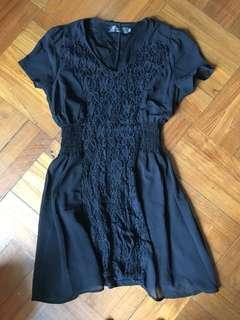 1折 PUSSYCAT LACE DRESS 修腰 蕾絲 裙 雪紡