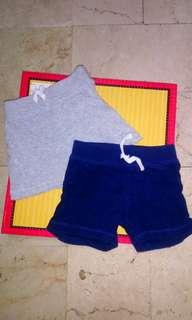 Carters boy shorts set of 2