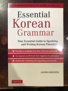 Korean language learning books